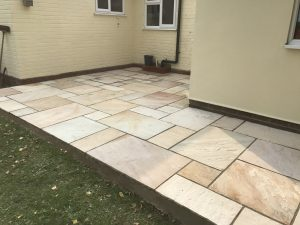 Natural Indian Sandstone Patio Felsted, Essex