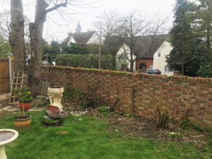 Wall Restoration - by Judge Construction, Essex